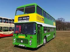 Southdown/NBC Bristol VR (crashcalloway) Tags: bus nbc kent transport coaches maidstone southdown detling bristolvr kentshowground aap651t southeastbusfestival2013