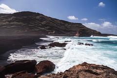 Playa d'El Golfo (Qiou87) Tags: beach canon lanzarote el canary polarizer canaries golfo 5d2 quentintoman