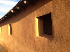 Window (miia hebert) Tags: newmexico albuquerque goldenhour adobewall uploaded:by=flickrmobile flickriosapp:filter=nofilter
