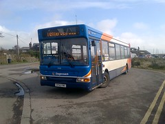 This bus looks wobbly (the insider2013) Tags: volvo kent east solo dennis ashford dart stagecoach olympian optare