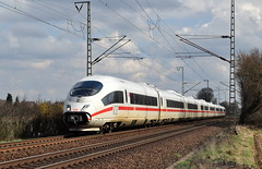 403 029 Voerde 13.04.2013 (hansvogel51) Tags: ice train germany deutschland eisenbahn db voerde ice3 elektrotriebwagen br403