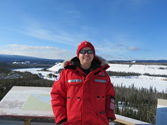 Yours Truly at Five Finger Rapids (jimbob_malone) Tags: yukon 2013 northklondikehighway