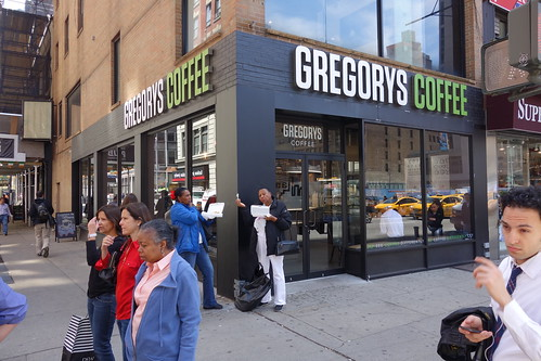 Gregorys Coffee | 6th Ave (W 31st St) | Herald Square
