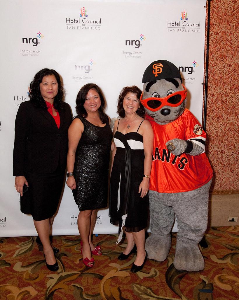 Lou Seal Hotel Council Of San Francisco Tags Sanfrancisco Party Baseball Ceremony