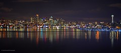Seattle Panorama Lake Union (JohnCramerPhotography) Tags: landscape cityscape spaceneedle seattleskyline seattlepanorama