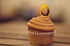 O (Fajer Alajmi) Tags: wood caramel cupcake letter
