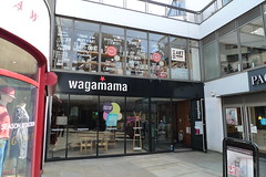 Wagamama, Hampstead, NW3 (Ewan-M) Tags: england london restaurants japaneserestaurant dome japanesefood hampstead wagamama babushka babushkas nw3 thedome rgl londonboroughofcamden mojama noodlerestaurant japaneserestaurants formerbar needsrglreview noodlerestaurants