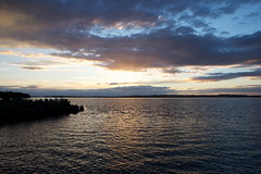 Swan Bay (LittleMok) Tags: clouds raw australia victoria soc sunet queenscliff swanbay 22apr13