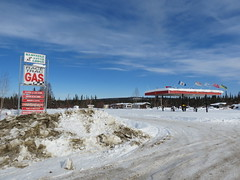 Race Trac Gas at Klondike River Lodge (jimbob_malone) Tags: yukon 2013 northklondikehighway