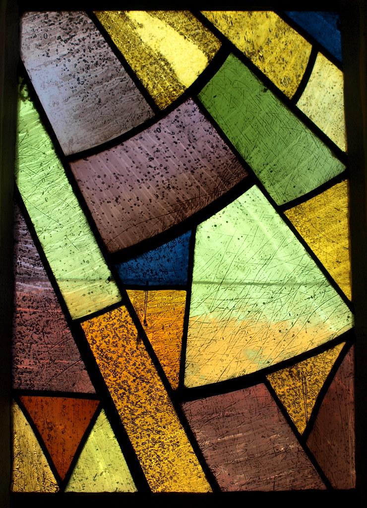 Kirchenfenster Gelb