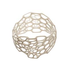 Pinch Bracelet white (nervous system) Tags: nylon 3dprint