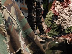 details JPG (José D...) Tags: fashion rotterdam colours details jeanpaulgaultier kunsthal kleuren stoer camouvlage