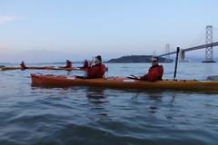 Full Moon Kayaking San Francisco (City Kayak) Tags: downtown ferrybuilding mccoveycove underthebaybridge leftyodouldrawbridge