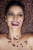 Coffee People (AnnuskA  - AnnA Theodora) Tags: portrait brown coffee colors beauty fun beans eyes makeup lips tones