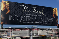 Industry Invite - Las Vegas, NV (tossmeanote) Tags: street black industry club night canon advertising eos hotel back outdoor lace bare ad property bank casino lips billboard resort nightclub advert blonde bellagio seethrough sundays sheer connell 24105 2013 60d lightgroup tossmeanote
