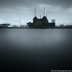 Battersea Power Station (byVini photography) Tags: city uk chimney england sky blackandwhite sun sunlight english vertical architecture river season photography europe riverside crane tide citylife tranquility east british copyspace riverbank constructionsite battersea riverthames cloudscape pimlico batterseapowerstation vapourtrail londonengland capitalcities britishculture placeofinterest builtstructure geographicallocations viniciosdemoura byviniphotographycom