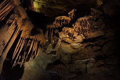 "Stalactites in Mammoth Cave • <a style=""font-size:0.8em;"" href=""http://www.flickr.com/photos/94329335@N00/8695140794/"" target=""_blank"">View on Flickr</a>"