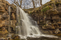 East Gill Waterfall...IMG_0172.jpg (Katybun of Beverley) Tags: uk longexposure trees motion landscape waterfall rocks yorkshiredales eastgillwaterfall