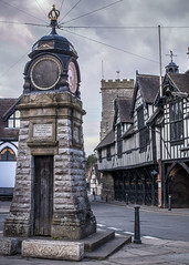 Tower2 (sgwphoto) Tags: tower clock stone shropshire tudor guildhall muchwenlock barrowstreet