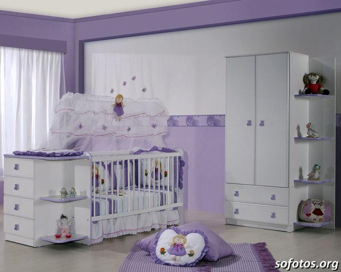 decoração de quarto de bebe completo