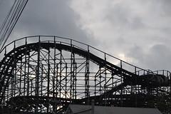Roller coaster (KsCattails) Tags: abandoned kentucky amusementpark louisville rollercoaster 2013
