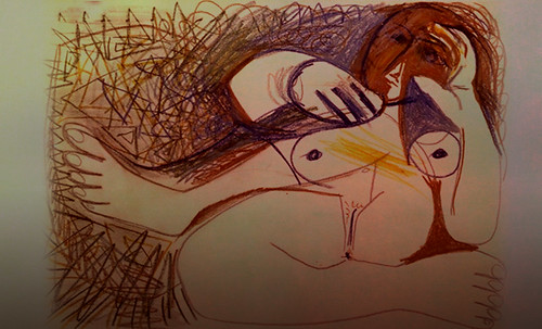 "Majas, homenajes de Francisco de Goya y Lucientes (1802), Eugéne Delacroix (1826), Amadeo Modigliani (1916), Pablo Picasso (1906), (1931), (1959), (1964). • <a style=""font-size:0.8em;"" href=""http://www.flickr.com/photos/30735181@N00/8747970612/"" target=""_blank"">View on Flickr</a>"