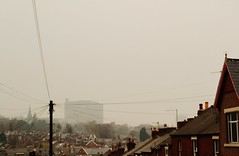 (vicky_ivy) Tags: uk houses light fog view sheffield yorkshire urbanlandscape sharrowvale nikond3100