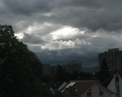 After the rain (sylvie bergere) Tags: bw storm clouds wolken sw gewitter frankfurtmain