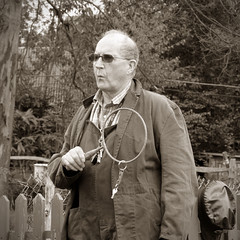 Signalman -Tinkers Park (017) (malcolm bull) Tags: park sepia sussex rally railway down steam gauge include tinker narow hadlow signalman 2013 20130601tinkers0023edited1web