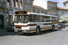 A face only a mother could love. (Renown) Tags: portugal buses volvo portuguese coaches b58 autocarro rodoviario castrodaire empresaguedes 002811