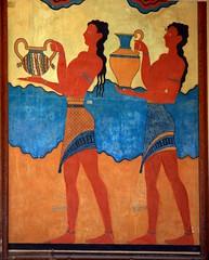 Fresque du Palais du Roi Minos (LILI 296....) Tags: duo knossos fresque croisire archologie crte hraklion canoneos450d palaisduroiminos