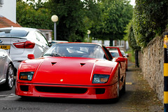 40 (MJParker1804) Tags: red classic cars twin icon ferrari turbo legend rosso v8 corsa f40