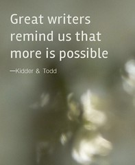 More is Possible  ~Kidder & Todd  #amwriting #amreading #authors #readers #bookworms #Penned #Inspiration #motivation (leahlozano.author) Tags: amwriting amreading authors readers bookworms penned inspiration motivation