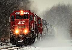 Soo Snow Globe (sdl39hogger) Tags: cp canadianpacific watertownsub sooline soo emd electromotivedivision sd60 watertown wisconsin