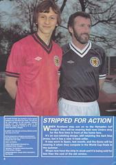 Scotland vs Holland - 1982 - Page 6 (The Sky Strikers) Tags: scotland holland netherlands official programme hampden park glasgow 60p international friendly