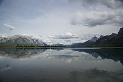 Grassi Reservoir (ryan.kole32) Tags: travel canada storm reflection nature beauty clouds landscape rockies outdoors hiking sony naturallight stormy alberta grotto rockymountains mirrorimage canmore quarry canadianrockies quarrylake grottomountain beautyinnature grassilake canmorealberta sonya77 grassireservoir