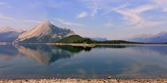 Reflection (vic_206) Tags: lago lake reflection reflejo canada alberta montaasrocosas canoneos60d tokina1116f28atxprodx rockymountains