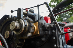 Wheels in Motion (Philthy Lens) Tags: traction shropshire steam fair fayre rally machine motion blur oil grease 2016 sony a7 ziess cogs gears rotation piston engine