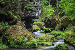 160524_163105_CB_0339 (aud.watson) Tags: europe czechrepublic bohemia decindistrict hrenska riverkamenice kamenicegorge edmundgorge gorge ravine river water rocks rockformation cliffs