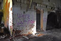 They're Waiting (dakotatylerd) Tags: abandoned ohio boards garbage bricks factory daytime middletown forgotten nikon d7200 exploring