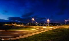 Interchange... (e0nn) Tags: pentax k200d flinders interchange road roadway longexposure sunset 1017mm nocturnal lightroom nikfilters steveselbyphotography steveselby steev
