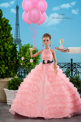 A Terrace in Paris (think_pink1265) Tags: canon40d canonmacro60mmf28 davidbuttry dior fashiondollcollecting fashiondollphotography itfds insidethefashiondollstudio integritytoys integritytoys2016 missamourpoppyparker poppyparker poppyparkerbonbonpoppygoestopariscollection rebeccaberryphotography wclub2016lottery wclubexclusive2016 dollblog dollphotography fashiondollblog toyphotography