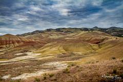 Painted Hills, Oregon1 (KeithCrabtree1) Tags: sunrise oregon spring park landscape paintedhills johndayfossilbeds 2016p2