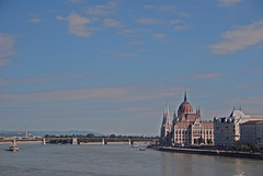 The Majestic River Danube in Budapest (murtphillips) Tags: majestic riverdanube budapest hungary beauty water sky clouds