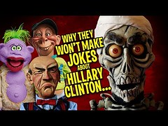 Why They Won't Make Jokes About Hillary Clinton...   JEFF DUNHAM (Download Youtube Videos Online) Tags: why they wont make jokes about hillary clinton   jeff dunham