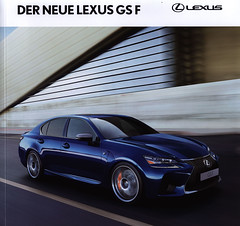 Lexus GS F, Der neue; 2015_1 (World Travel Library) Tags: lexus gs f lexusgsf 2015 moving blue sport car brochures sales literature auto worldcars world travel library center worldtravellib automobil papers prospekt catalogue katalog vehicle transport wheels makes model automobile automotive cars motor motoring drive wagen fahrzeug photos photo photography picture image collectible collectors collection sammlung recueil collezione assortimento coleccin ads online gallery galeria automobiles japan japanese   frontcover documents dokument broschyr esite catlogo folleto