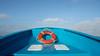 blue boat.jpg (SaraChain) Tags: baja mexico boat sea lifesaver salvavidas blue azul bote mar bajacallifornia trip bluesky inthesea