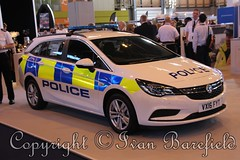 Vauxhall Demonstrator (skippys 999 site) Tags: police cops coppers emergency rescue 999