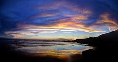 I'm on nights (pauldunn52) Tags: southerndown glamorgan heriatge coast wales sunset wet sand sky