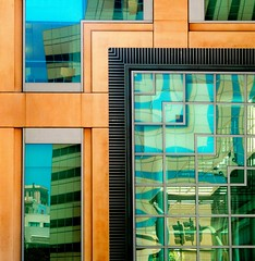 glass maze (msdonnalee) Tags: architecturalabstract glass reflection windowreflection fx explore